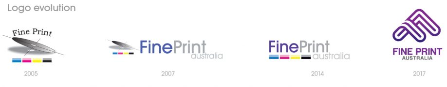 Printing Business - FPA logo evolution