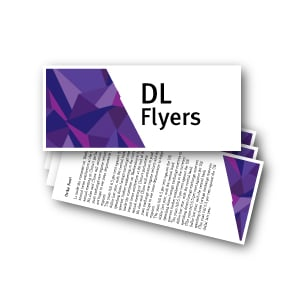 Dl Flyers printing